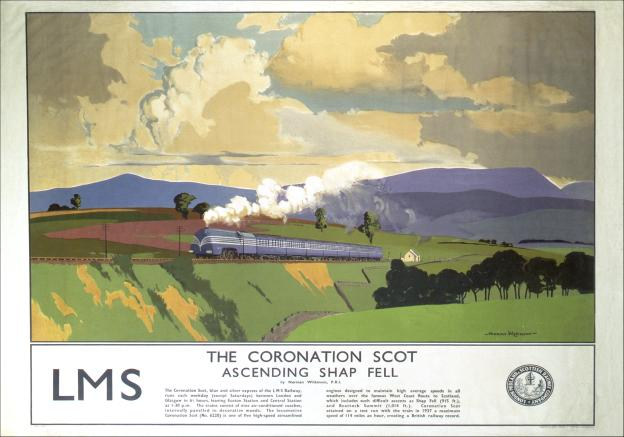 the-coronation-scot-shap-fell-cumbria-vintage-lms-travel-poster-by-norman-wilkinson-1937-472-p